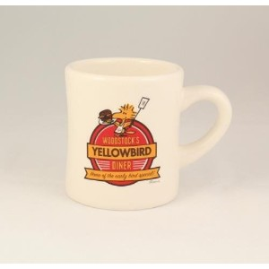 Hallmark ExclusiveウッドストックのYellowbird Diner Collectibleコーヒーマグ – # paj4655