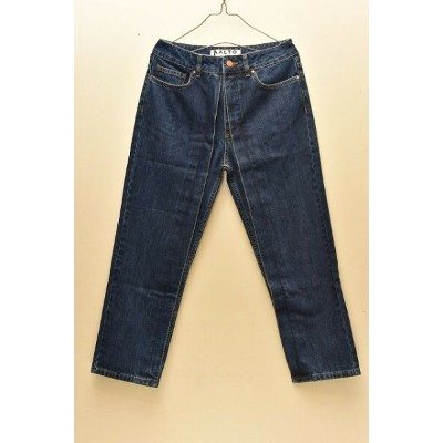 AALTO アールト Jeans With Fixed Pleats col.90S BLUE