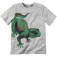 Carters Baby Boys Gecko T-Shirt 12 Months Grey by Carter's