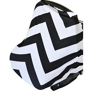 Roo Threads Infant Car Seat Canopy and Nursing Cover for Breastfeeding Baby by Roo Threads