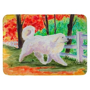 "Caroline 's Treasures ss8472rug "" Great Pyrenees ""フロアマット、19 "" x 27インチ、マルチカラー"