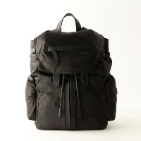 SALE【GUILD PRIME ギルドプライム】 【ALEXANDER WANG】MARTI IN BLACK SATIN WITH MATTE BLACK/21B0040 ブラック メンズ