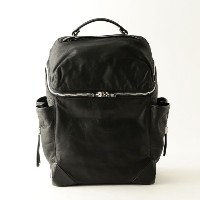 【GUILD PRIME ギルドプライム】 【ALEXANDER WANG】SMALL WALLIE BACKPACK IN WAXY BLACK WITH RHODIUM/21B0001 ブラック...