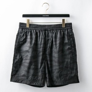 SALE【GUILD PRIME ギルドプライム】 【T by ALEXANDER WANG】MENS CAMO PRINTED SWIM SHORTS/503803S17 ブラック メンズ