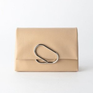 SALE【ギルドプライム(GUILD PRIME)】 【3.1 Phillip Lim】バッグ-ALIX SOFT FLAP CLUTCH AS16-A038LUP- ベージュ