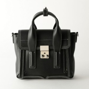 SALE【ギルドプライム(GUILD PRIME)】 【3.1 Phillip Lim】バッグ-PASHLI MINI SATCH AP17-0226 NBL- ブラック
