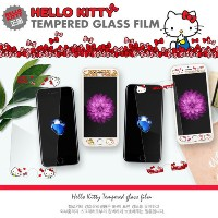iPhone 6/S 6/S Plus 7(4.7) 7 Plus Galaxy S7 Note 5 ケース HELLO KITTY TEMPERED GLASS 2017 プレミアム ケース GIF