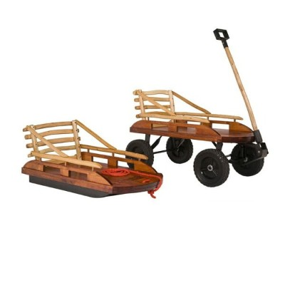 ワゴン ソリMountain Boy Grasshopper Convertible Sled and Wagon
