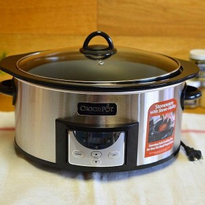 クロックポット スロークッカー 直火OK 5.6LCrock-Pot , 6-Quart, Countdown Programmable Oval Slow Cooker with Stove...