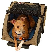 スヌーザー ペットキャリーバッグSnoozer Roll Around 4-in-1 Pet Carrier Medium