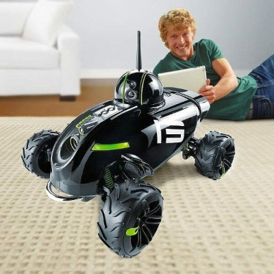 アプリコントロール ラジコン カメラRover Revolution App-Controlled Wireless Spy Vehicle iphone ipad Android
