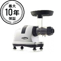 オメガ スロージューサー ホワイトOmega J8007 Heavy Duty Masticating Juicer White