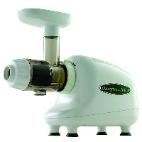 オメガ スロージューサー 白 ホワイトOmega J8003 Nutrition Center Single-Gear Commercial Masticating Juicer, White