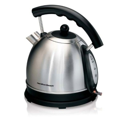 ハミルトンビーチ 電気ケトル Hamilton Beach 1.7L Stainless Steel Electric Kettle 40893 家電