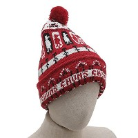 CHUMS(チャムス)Holiday Chilly Knit ホリデイ チリー ニット Cap・Red