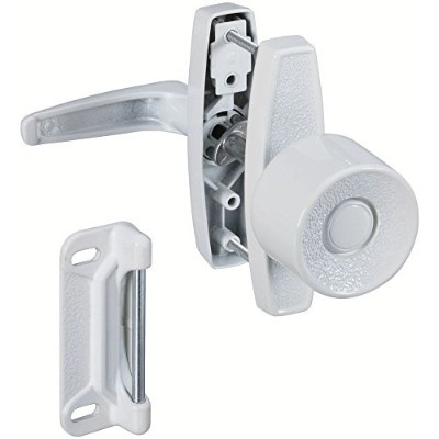 National Mfg.N212993Knob Latch-WHITE KNOB LATCH (並行輸入品)