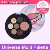 Etude House ★NEW Eye Shadow★Universe Multi Palette /Point Color /Glitter /Produced in Korea