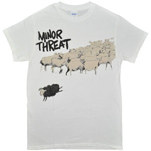 MINOR THREAT マイナースレット Out Of Step Tシャツ