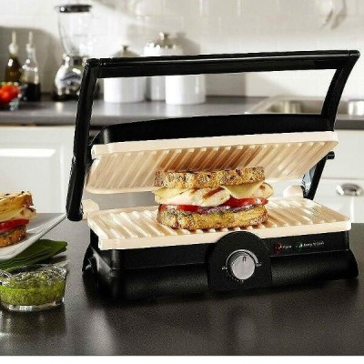 オスター パニーニメーカー Oster DuraCeramic Panini Maker and Grill CKSTPM20W-ECO
