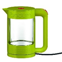 ボダム 電気ケトル ガラス 約1LBodum 11445 Bistro Double Wall Glass Electric Water Kettle, 37-Ounce