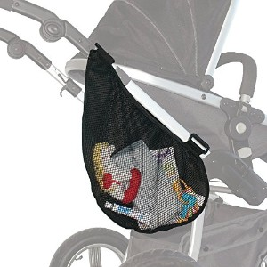 Jolly Jumper Stroller Saddle Bag - Stroller Storage Bag by Jolly Jumper