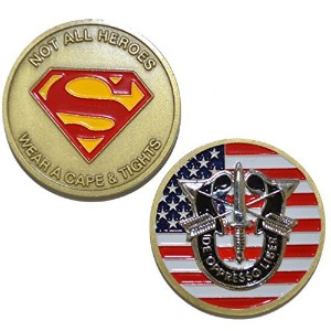 Special ForcesないすべてHeros Wear aケープ&タイツ – Challenge Coin