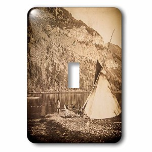 3drose LSP _ 240437_ 1Vintage Native American Stereoview Living the Simple Life。Single切り替えスイッチ