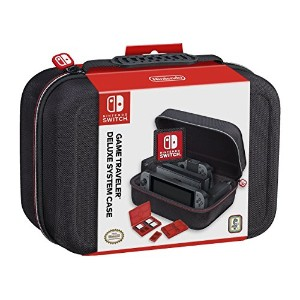 【RDS Industries Inc Nintendo Switch Game Traveler Deluxe System Case - Imported】 b01n23op50