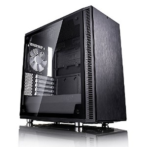 Fractal Design Define Mini C Black Tempered Glass ミニタワー型PCケース CS6890 FD-CA-DEF-MINI-C-BK-TG