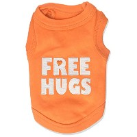 Parisian Pet Free Hugs Dog T-Shirt, XX-Small by Parisian Pet