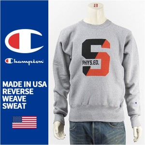 【国内正規品・米国製】Champion チャンピオン メイドインUSA リバースウィーブ クルーネック スウェットシャツ CHAMPION MADE IN USA REVERSE WEAVE...