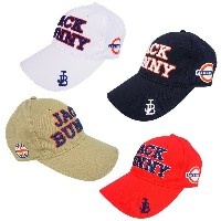 【NEW】Jack Bunny!! by PEARLY GATESジャックバニー ユニオンジャックワッペンJBロゴ 定番系ツイルキャップ262-8187004/17D UnionJack