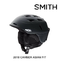 2018 SMITH スミス ヘルメット HELMET CAMBER MATTE BLACK ASIAN FIT