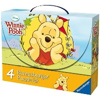【Ravensburger Winnie the Pooh Puzzle Case by Ravensburger】 b004dl15n8