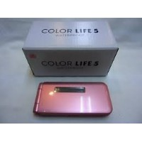 401pm softbank life color 5 ライトピンク
