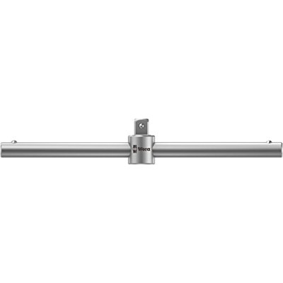 Wera Zyklop 8789 A T-Handle, Square drive 1/4 Head x 110mm T-Handle by Wera