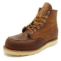 "RED WING 8876 Classic Work 6"" Moc-toe 【レッドウイング 8876 クラシックワーク 6インチ モックトゥ】Copper Rough&Tough(カッパー ラフ..."