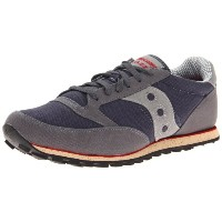 Saucony OriginalsメンズJazz Low Pro Veganスニーカー カラー: グレー