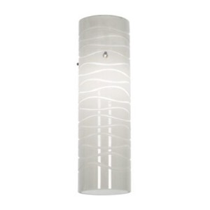 Access Lighting 932V-WHTLN Anari Silk l Duplex Cylinder [並行輸入品]