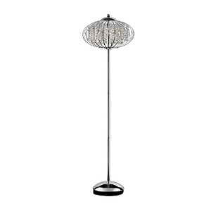 Ore International K-5143F Royal Krystale Floor Lamp, 62.5-Inch by ORE