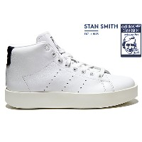 adidas Originals STAN SMITH BD MID W BY9664 RUNNING WHITE/RUNNING WHITE/COLLEGE NAVYアディダス オリジナルス...