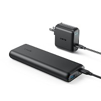 Anker PowerCore Speed 20000 PD (最軽量 Power Delivery対応 20100mAh モバイルバッテリー)【USB-C急速充電器付属】iPhone &...