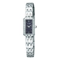 パルサーWomen 's pex541 Crystal Lapis Dial Watch