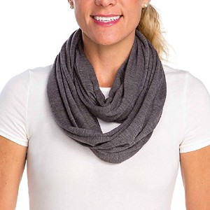 Infantino Infinity Scarf Nursing Cover, Grey by Infantino