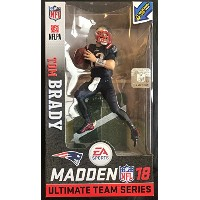 McFarlane Toys EA Sports Madden NFL 18 Ultimate Team Tom Brady New England Patriots Action Figure...