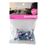 Penny Gumball Skateboard Bolts, Pink, 1.125 by Penny