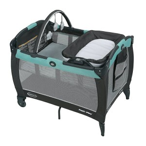 グレコ Graco パックン プレイヤード Pack 'n Play Playard Reversible Napper & Changer LX Bassinet Tenley ベビーベッド...