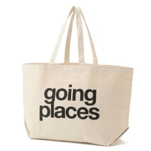 【LE JOUR ル ジュール】 【DOG EARED】going places super tote オフホワイト レディース