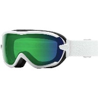 スミス レディース スキー・スノーボード ゴーグル【Virtue ChromaPop Goggles】White Mosaic/Chromapop Everyday Green Mirror