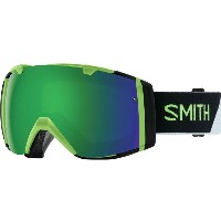 スミス メンズ スキー・スノーボード ゴーグル【I/O Chromapop Goggles with Bonus Lens】Reactor Split/Chromapop Sun Green...